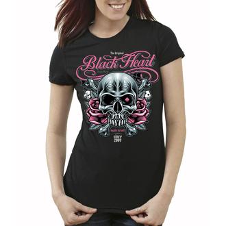 t-shirt street donna - BH HOLISTER - BLACK HEART, BLACK HEART