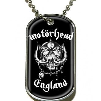 collana ' piastrina' Motörhead 'England' - DT019, RAZAMATAZ, Motörhead