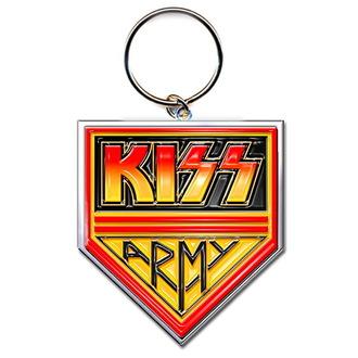 portachiavi (ciondolo) KISS - Army Pennant - ROCK OFF, ROCK OFF, Kiss
