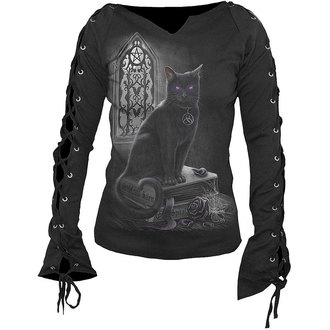 t-shirt donna - Witch Cat - SPIRAL - D016F412