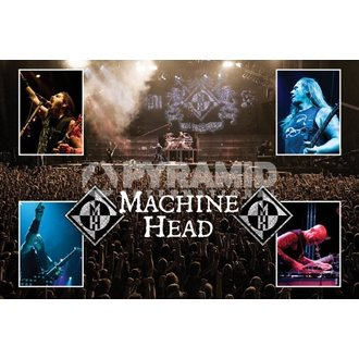 poster Machine Head (Live) - PYRAMID POSTER, PYRAMID POSTERS, Machine Head