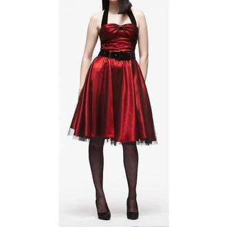 vestito donna HELL BUNNY 'Songstree Dress (ROSSO/NERO), HELL BUNNY