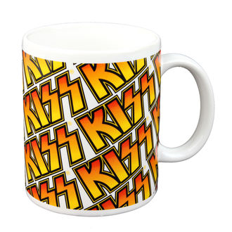 tazza - KISS - Boxed Mug Kiss (Piastrelle) - ROCK OFF, ROCK OFF, Kiss