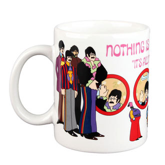 tazza Beatles - Giallo Sub Niente is Vero Boxed Mug - ROCK OFF, ROCK OFF, Beatles