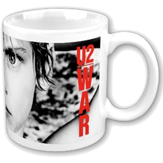 tazza U2 - War Boxed Mug - ROCK OFF, ROCK OFF, U2