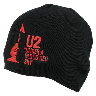 beanie U2 - U2 Beanie Hat Under Be Blood Red Sky - ROCK OFF, ROCK OFF, U2
