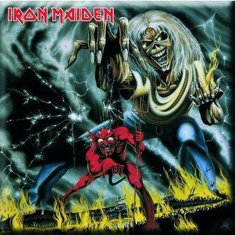 calamita Iron Maiden - Number Of The Beast Frigo Magnet - ROCK OFF, ROCK OFF, Iron Maiden