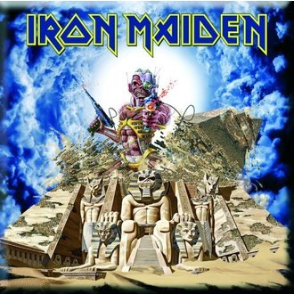 calamita Iron Maiden - Somewhere Back In Time Frigo Magnet - ROCK OFF, ROCK OFF, Iron Maiden