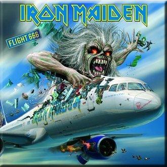 calamita Iron Maiden - Volo 666 Frigo Magnet - ROCK OFF, ROCK OFF, Iron Maiden