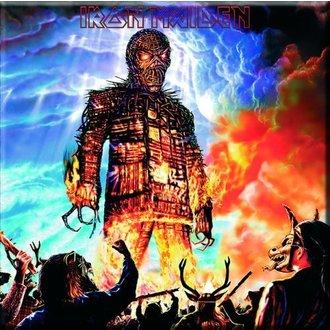 calamita Iron Maiden - Di vimini Man Frigo Magnet - ROCK OFF, ROCK OFF, Iron Maiden