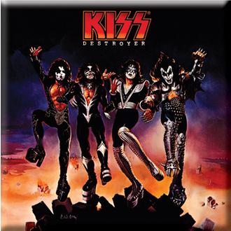 magnete Kiss - Distruttore Album Copertina Frigo Magnete - ROCK OFF, ROCK OFF, Kiss