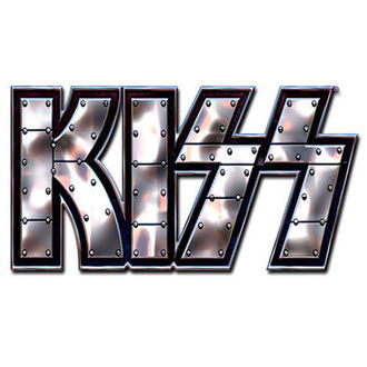 bordeggiare Kiss - Stud Logo - ROCK OFF, ROCK OFF, Kiss