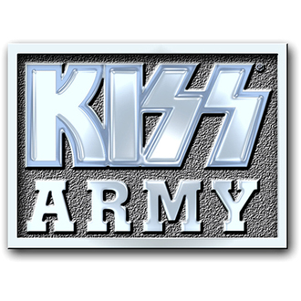 bordeggiare Kiss - Army Blocco perno distintivo - ROCK OFF, ROCK OFF, Kiss