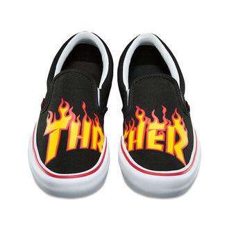 scarpe da ginnastica basse uomo - SLIP-ON PRO (THRASHER) B - VANS, VANS