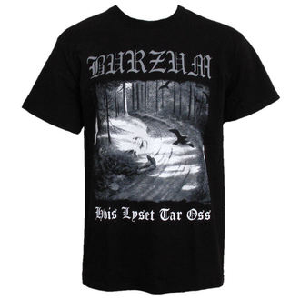 t-shirt metal Burzum - Hvis Lyset Tar Oss - PLASTIC HEAD, PLASTIC HEAD, Burzum