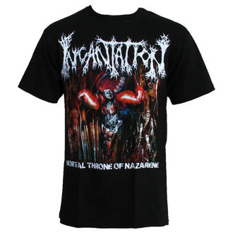 t-shirt uomo Incantation-MORTALE TRONO, RELAPSE, Incantation
