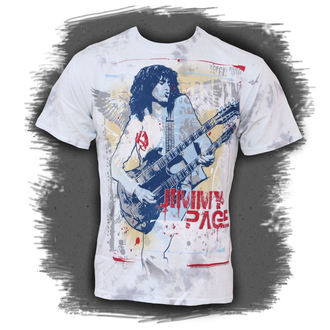 t-shirt metal Jimmy Page - Double Your Pleasure - LIQUID BLUE, LIQUID BLUE, Jimmy Page