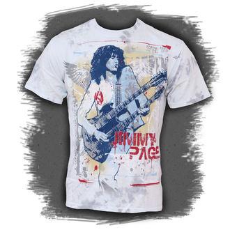 t-shirt metal Jimmy Page - Double Your Pleasure - LIQUID BLUE