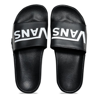 infradito unisex - MN SLIDE-ON (VANS) BLACK - VANS, VANS