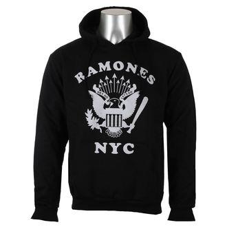felpa con capuccio uomo Ramones - Retro Eagle NYC - ROCK OFF, ROCK OFF, Ramones