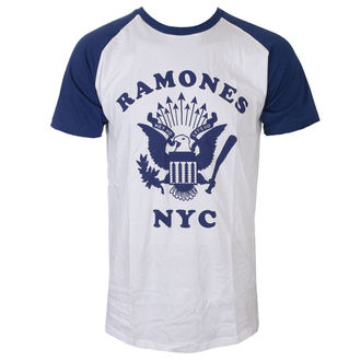 t-shirt metal uomo Ramones - Retro Eagle - ROCK OFF, ROCK OFF, Ramones