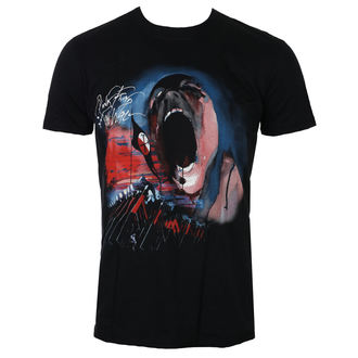 t-shirt metal uomo Pink Floyd - The Wall Scream & Hammers - ROCK OFF