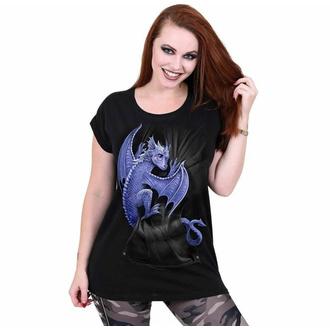 Maglietta da donna SPIRAL - POCKET DRAGON - Nero, SPIRAL