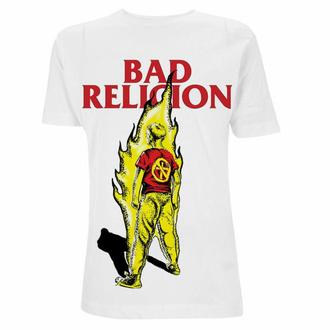 Maglietta da uomo Bad Religion - Boy He Fire - bianca, NNM, Bad Religion