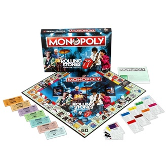 Tavola gioco Rolling Stones - Monopoly, NNM, Rolling Stones