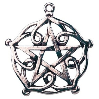 ciondolo Pentagram of Brisingamen - EASTGATE pásek, EASTGATE RESOURCE