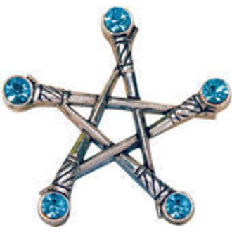 ciondolo Pentagram of Swords - EASTGATE pásek, EASTGATE RESOURCE