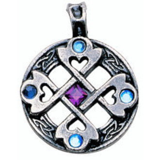 ciondolo Celtic Cross Heart - EASTGATE pásek, EASTGATE RESOURCE