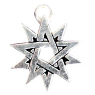 ciondolo Double Pentagram - EASTGATE pásek, EASTGATE RESOURCE