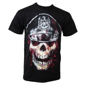 t-shirt metal uomo Slayer - Skull Hat - ROCK OFF - SLAYTEE01MB