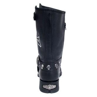 stivali in pelle donna - NEW ROCK - M.7622-S1