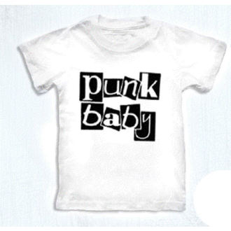 t-shirt metal bambino - Punk Baby - ROCK DADDY - 16007-006, ROCK DADDY