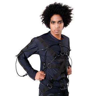 T-shirt gotica e punk uomo - Trap Cardy Jersey Black - SEKTOR 1, SEKTOR 1