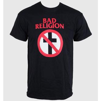 t-shirt uomo Bad Religion - Crossbuster Nero, LIVE NATION, Bad Religion