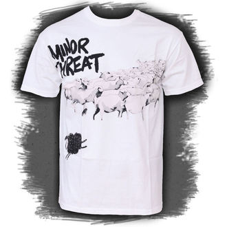 t-shirt uomo Minor Threat - Out Of Steppa White - LIVE NATION, LIVE NATION, Minor Threat