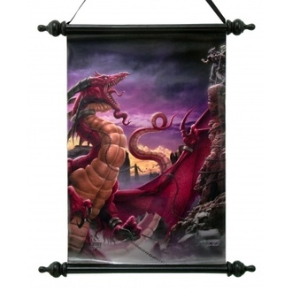 poster Art Scroll - Sguinzagliare The Dragon