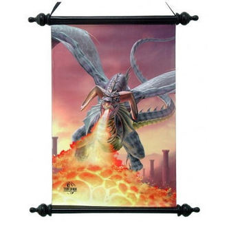 poster Art Scroll - Online Of Fire