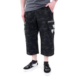 pantaloncini uomo Nero Camouflage - NUCLEAR BLAST, NUCLEAR BLAST