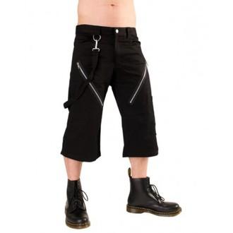 pantaloncini 3/4 uomo Nero Pistol - Zip Short Pantaloni Denim Nero, BLACK PISTOL