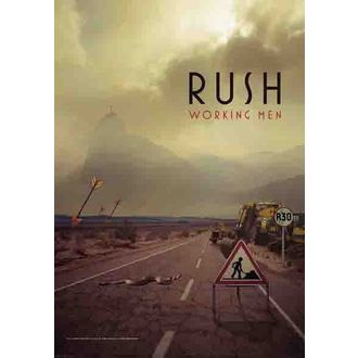 bandiera Rush - Lavoro Men, HEART ROCK, Rush