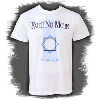 t-shirt metal uomo Faith no More - We Care A Lot - PLASTIC HEAD, PLASTIC HEAD, Faith no More
