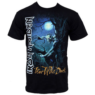 t-shirt uomo Iron Maiden - Fear Of The Buio - IMTEE06MB - ROCK OFF