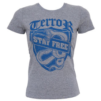 t-shirt metal donna Terror - Stay Free - Buckaneer, Buckaneer, Terror