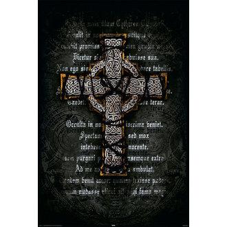 poster Gothic Cross - Arrotolato, Reinders