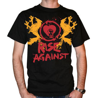 t-shirt metal uomo Rise Against - Fist Crest - KINGS ROAD, KINGS ROAD, Rise Against