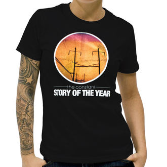 t-shirt metal donna Story of the Year - The Constant - KINGS ROAD - Black, KINGS ROAD, Story of the Year